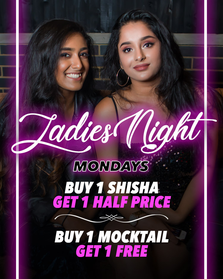 Ladies Night Every Monday! 2-4-1 Cocktails